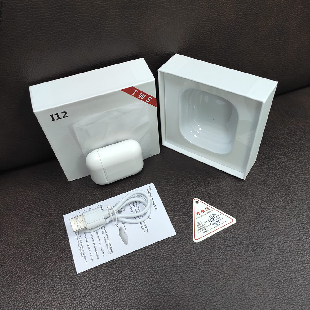 SWZYOR Mini i12 <font><b>TWS</b></font> <font><b>Bluetooth</b></font> <font><b>5.0</b></font> Earphone Sports True Wireless Earbuds Touch Earphones Magnetic Charging Box PK <font><b>i10</b></font> i11 image