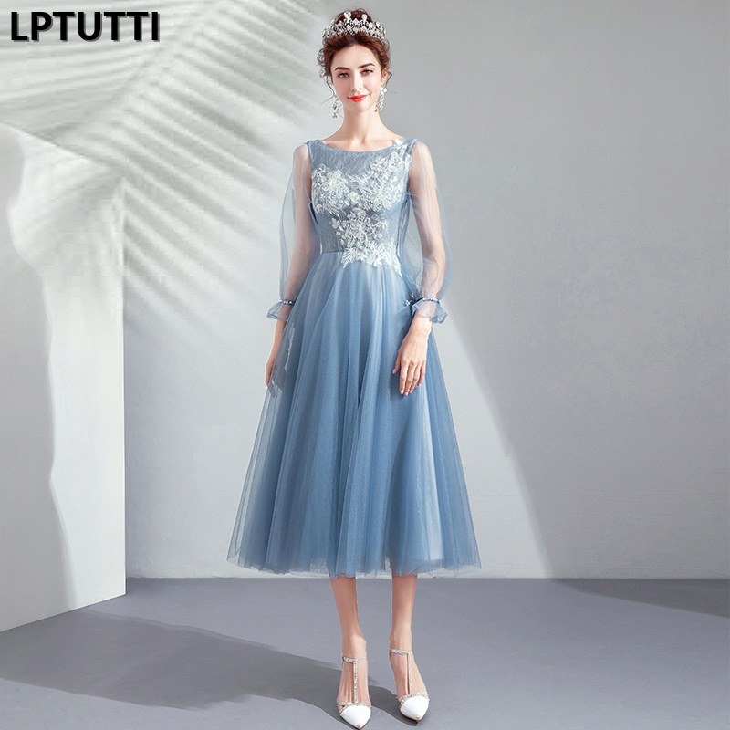 LPTUTTI Embroidery Beading New For Women Elegant Date Ceremony Party Prom Gown Formal Gala Events Luxury Long Evening Dresses