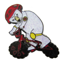Factory Outlet Shiny Animal Badge Zinc Alloy Brooch