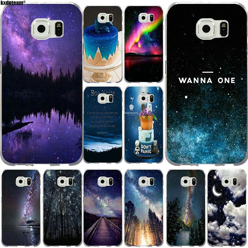 Cellphones & Telecommunications Half-wrapped Case Smart 73g Sky Space Planet Black And White Sun Moon Soft Tpu Silicone Cover Case For Samsung Galaxy S6 S6 Edge S8 S9 Plus Case