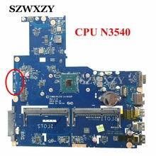 Alta Qualidade Para A Lenovo B50-30 Laptop Motherboard ZIWB0/B1/E0 LA-B102P N3540 Processador Completo Testado