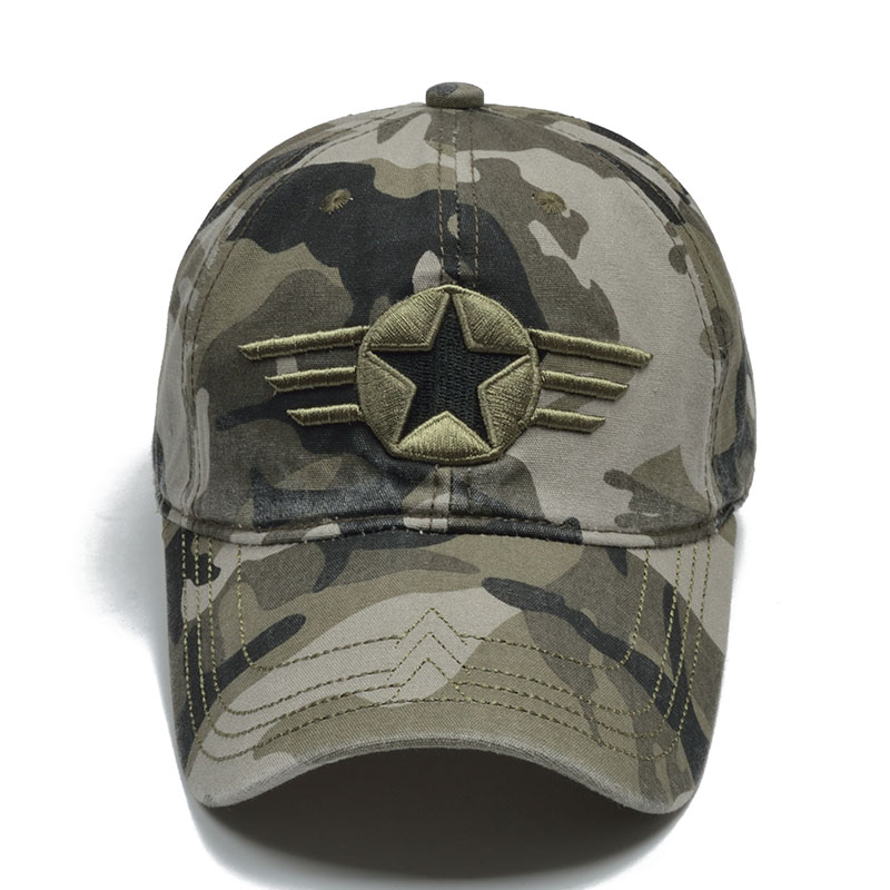 [NORTHWOOD] Brand Camo US Army Cap Men Army Baseball Cap Dad Hat For Men Camouflage Snapback Bone Masculino Tactical Dad Cap
