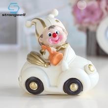 цены Strongwell Italian Classic Style Circus Clown Decoration  Children'S Room Small Furnishings Birthday Gift Souvenir