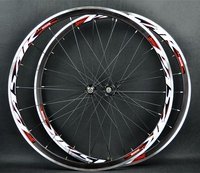 PASAK Road Bike Bicycle 700C Sealed Bearings Ultra Light Wheels Wheelset Rim 11 Speed Support 1650g