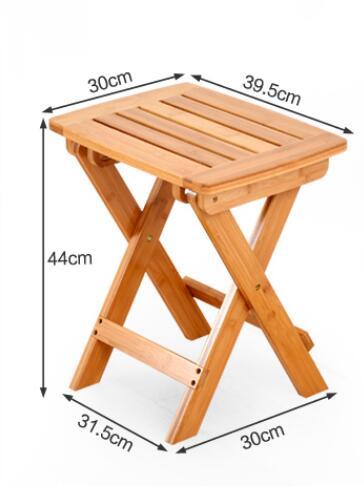90 * 74 * 71 CM Bambuskrivbord Skrivbord Fällbart studiebord - Möbel - Foto 3