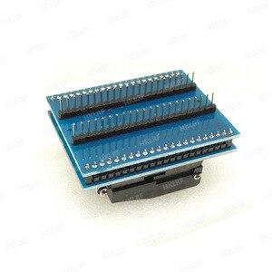 Image 4 - TQFP44 zu DIP44/LQFP44 zu DIP44 Programmierer Adapter Buchse für RT809H & TNM5000 programmierer & XELTEK USB programmierer Gute qualität