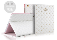 Luxury Diamond Soft Leather Case Cover For Ipad Air 1 2 Smart Flip Leather Stand Cover