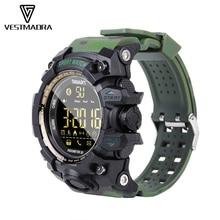 VESTMADRA EX16S Sport Bluetooth Smart Watch IP67 Waterproof Pedometer Smartwatch Alarm Clock Stopwatch Long Standby Wristwatch