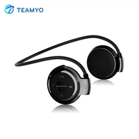 Teamyo S503 Mini Bluetooth Headset With FM Radio Sport Wireless Headphones Music Stereo Earphone Micro SD