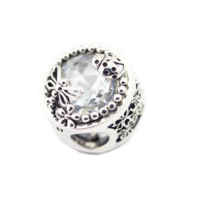 Silver 925 Enchanted Nature Charm Beads Fit Original pandora Bracelet beads Jewelry making gifts