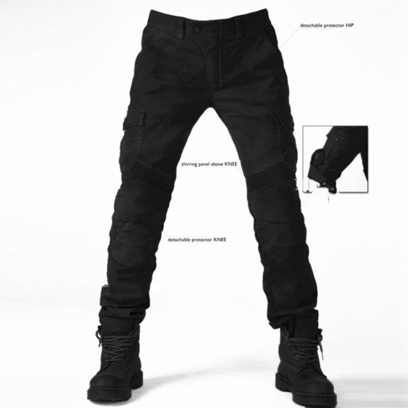TKOSM 2017 MOTORPOOL Motocross Pants Motorcycle Men s off road Outdoor Jeans Cycling Pant With Protect