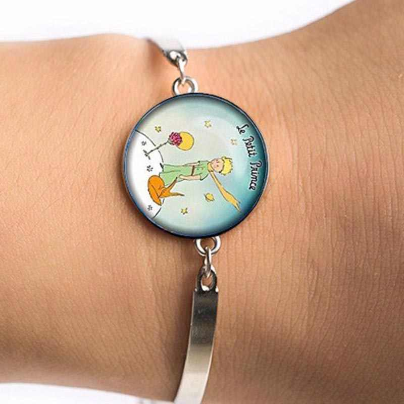 Gaxybb bracelet jewelry Best friends gifts interesting design lovely cartoon The Little Prince bracelet jewelry birthday gift