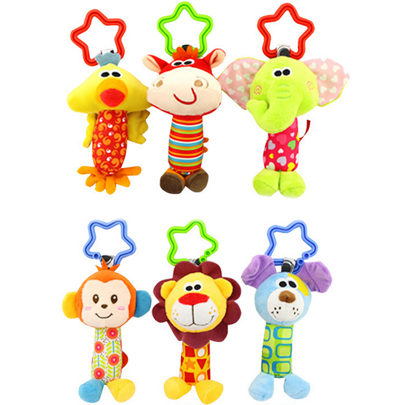 Byfa Musical Rattles Teether Strollers Kids Toys for