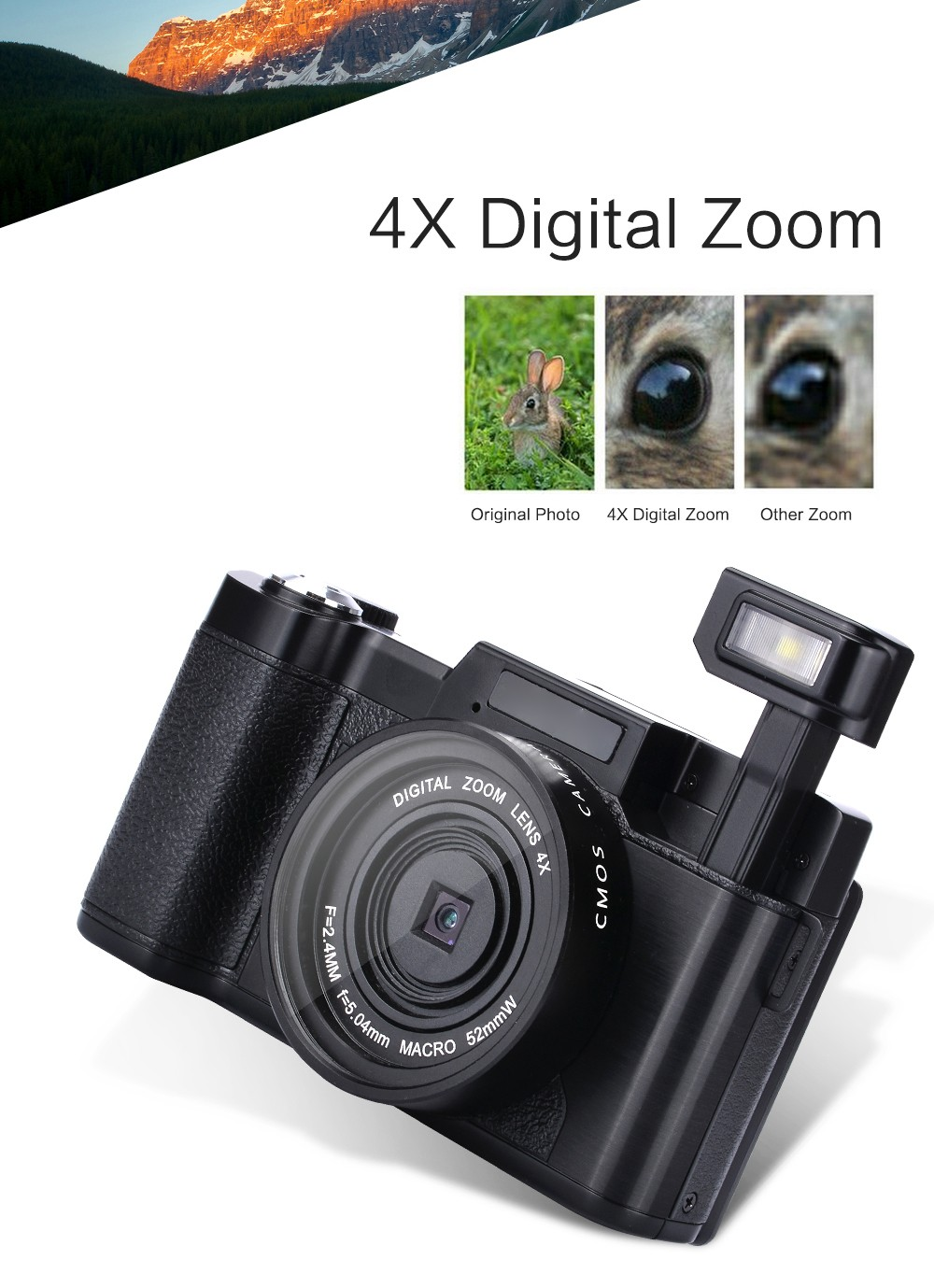 CDR2 Camera--24MP 3inch Screen (29)