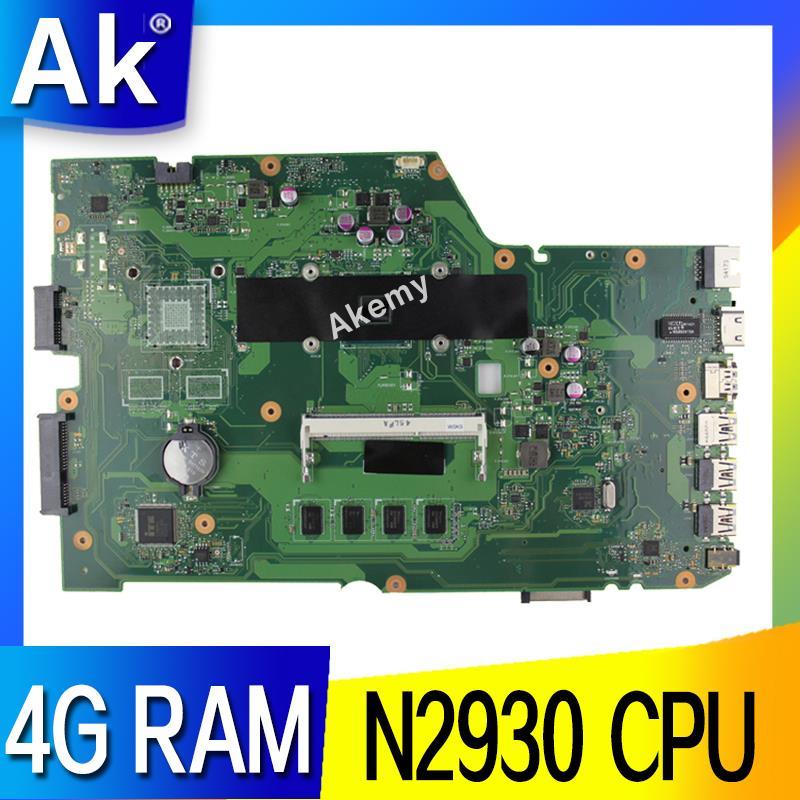 AK X751MA Laptop Motherboard For ASUS X751MA X751M X751 Test Original Mainboard 4G RAM N2930 CPU