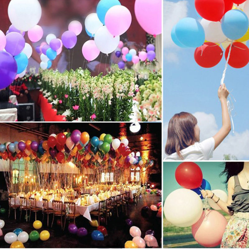 Aliexpress Buy Mengxiang 100pcslot Multicolor Helium Latex