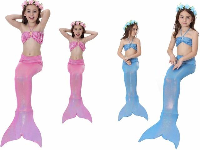 Costume Da Bagno Sirena : Costume da bagno della sirena dei bambini costume da bagno dei
