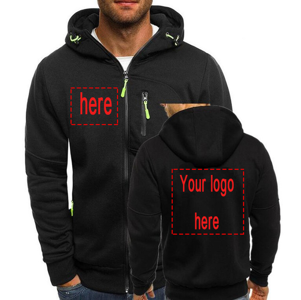 Zipper Hoodies Swearshirt Customize New-Pattern for You Soft And Warm