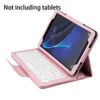 Untra Thin Durable Keyboard With Protective Case Universal Portable Convenient 2 In 1 Detachable For Galaxy 10.1 T580 Tablet