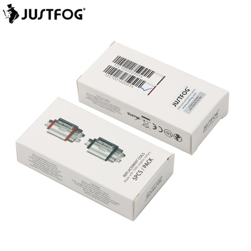 20/10PCS JUSTFOG Q16 Coil Q14 Coil 1.6ohm 1.2ohm Head Core For Justfog C14 Q14 Q16 P16A P14A Kit E-Cigs Justfog Coil Evaporator