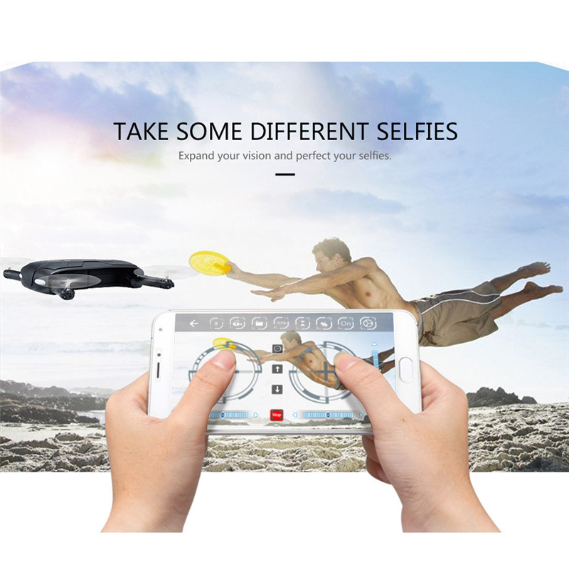 New Original JJRC H37 HD Camera WIFI FPV RC Quadcopter Selfie Foldable + 3PC 500mAh Battery RC Dron Helicopter Hot Salling jjrc h37 elfie rc quadcopter foldable pocket selfie drone with camera