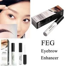 100% Original Natural FEG Eyelash Enhancer Eyebrow Rapid Growth Serum Liquid 3ml
