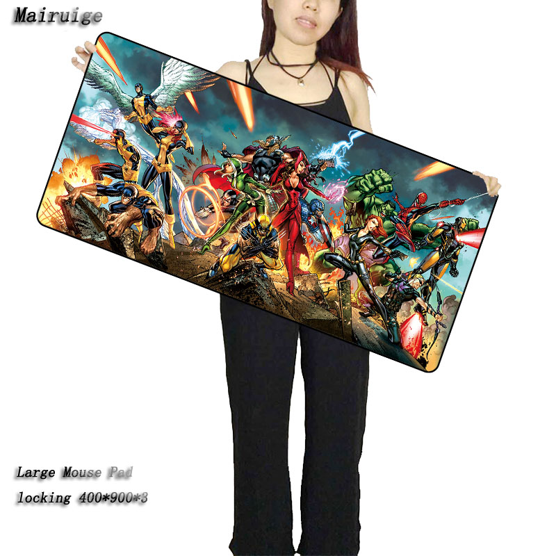 Mairuige Free Shipping 400*900*2MM Movie Large Mouse Pad Pad To Mouse Notbook Computer Mousepad Overlock Edge Big Gaming Pad