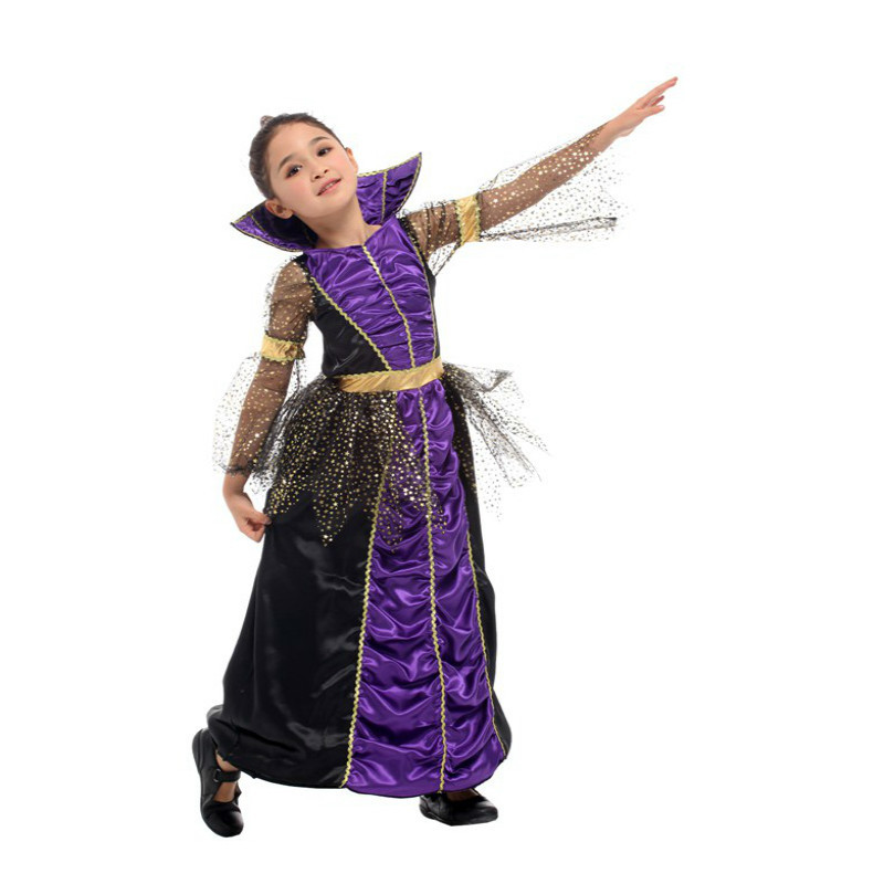 halloween costume for kids witch costume for girls child children Fantasia Infantil Carnival Party fancy dress Cosplay christmas