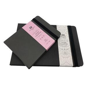 Image 3 - Dorerart Aquarel Notebook 50% Katoen Hand Schilderen Water Kleur Notebook 24 Vel 300gsm Boeken Voor Kantoor School Art Supplies