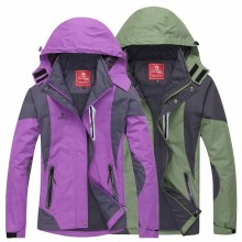 2016 New couples coat outdoor Waterproof windproof Camping & Hiking jacket men women breathable Sports mountaineering jacket