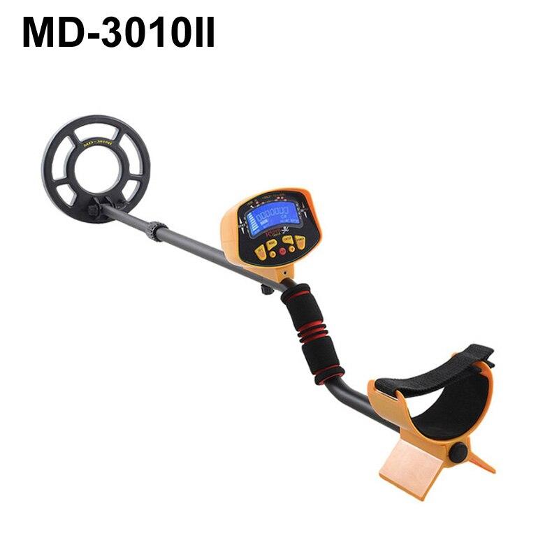 все цены на MD-3010II Hobby Underground Metal Detector LCD Display Gold Digger Treasure Hunter Detecting Tool онлайн