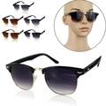 2016 super cool estilo Das Mulheres Dos Homens Designer de marca de Grandes Dimensões Do Vintage óculos de Sol óculos quadrados