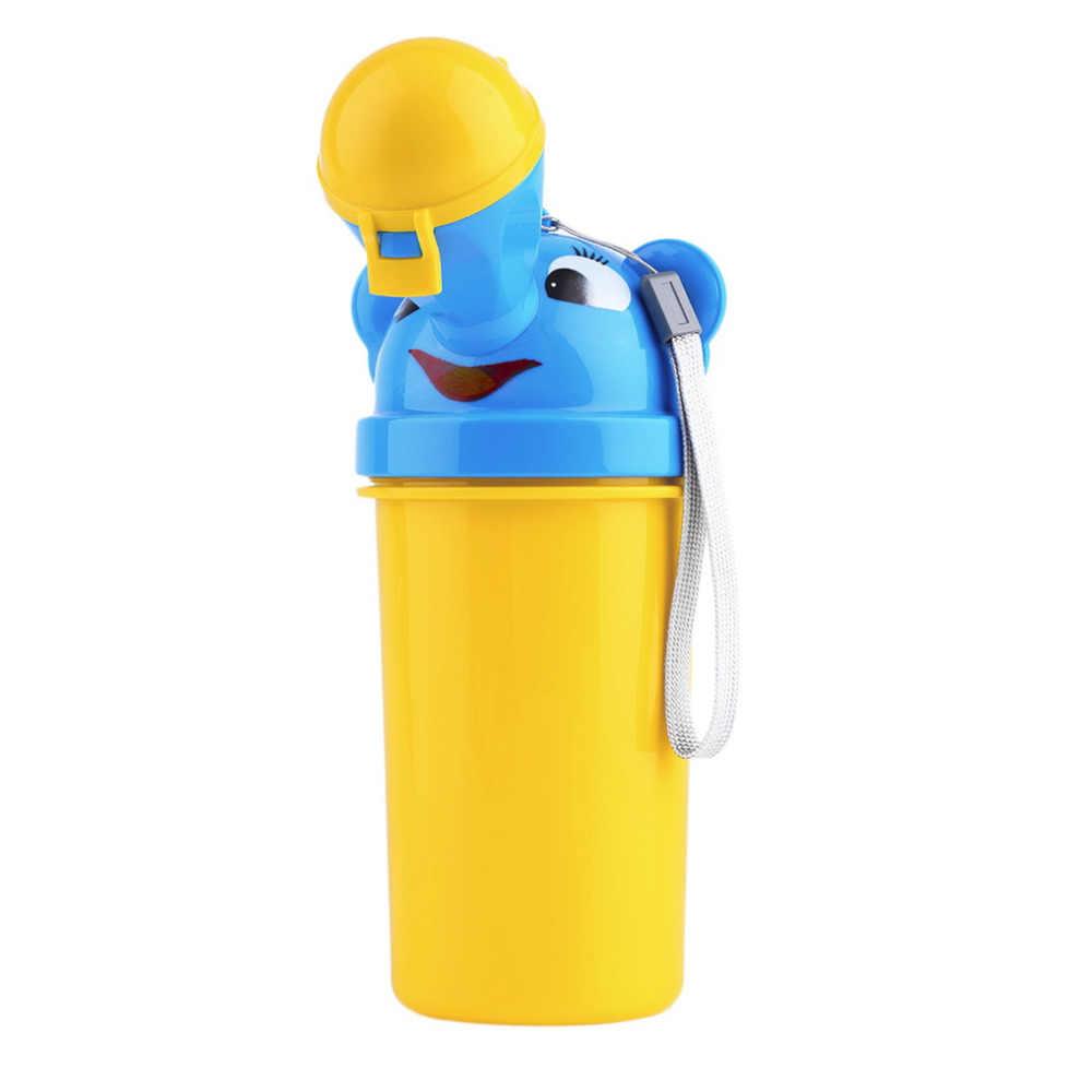 Милый портативный Писсуар для маленьких мальчиков и девочек, автомобильный туалет для путешествий