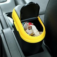 Creative Car Trash Utility Vehicle With A Mobile Phone Snack Beverage Container Storage Organizer Organize Household