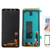 Test Well TFT LCD Screen For Samsung A6+ A605 A6050 LCD Display Touch Screen Digitizer For Samsung Galaxy A605 LCD A6+ A6 Plus