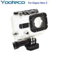 Gopro Accessories 45M Underwater Waterproof Housing Case Clear Cover For Go Pro Hero 3 Hero3 Gopro3