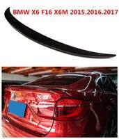 HLONGQT Carbon Fiber Spoiler For BMW X6 F16 X6M 2015.2016.2017 High Quality Car Rear Wing Spoilers Auto Accessories