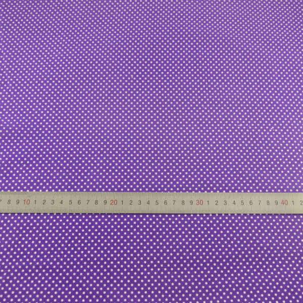 Do szycia 100% tkanina bawełniana tekstylia domowe Patchwork Scrapbooking dekoracji lalki małe w białe kropki wzorów tkaniny Teramile tkaniny