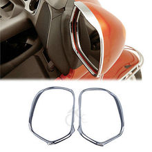 Купить с кэшбэком Motorcycle Accessories Chrome Mirrors Trim Decoration For Honda Goldwing GL1800 2001-2012 03 05 07 09