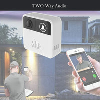 High Quality Wireless WiFi Video Doorbell Camera Door Bell Ring Alarm 720P IOS Android APP Visible anywhere Easy Install