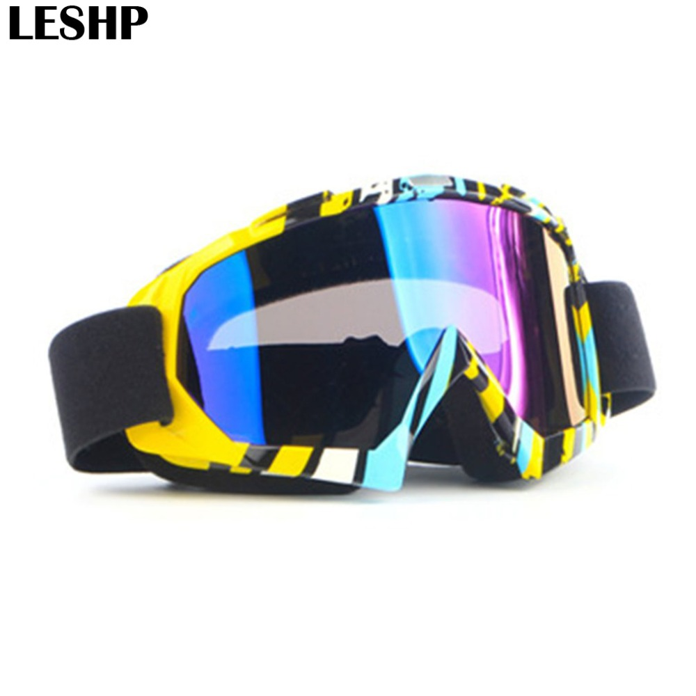 Motorcycle Rider Safety Goggles Motocross Protective Glasses Goggles Riding Ski Goggles for Outdoor Activity Skiing Riding