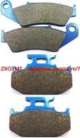 Motorcycle Semi Metallic Brake Shoe Pads Set Fit For KAWASAKI KLX650 KLX 650 R 1993 1995