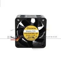 Nuevo GM2404PQB1 8A original 24V 3 9 W dos líneas 40*40*28 ventilador inversor|fan 24v 40|fan 40|fan 24v -