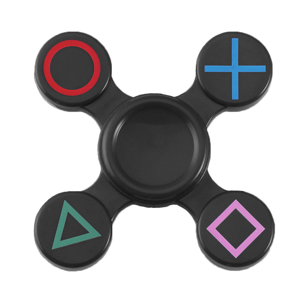 Spinner Finger ABS EDC Spinner Tri For Kids Autism ADHD Anxiety Stress Relief Focus Toys Gift