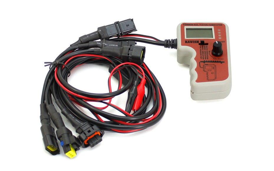 CR508 Diesel Common Rail Testador De Pressão e Simulador para Bosch/Delphi/Denso Sensor De Ferramenta de Teste de Diagnóstico Ferramentas Livre grátis