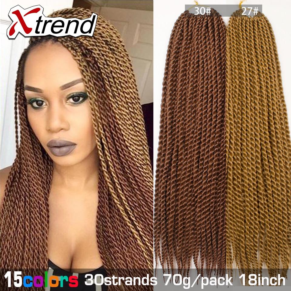 Senegalese Twist Hair Synthetic Ombre Kanekalon Jumbo