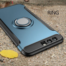 3D Ring Case For Huawei Honor 10 Case Magnetic Armor Holder Silicone Soft Cover For Honor 9 Lite Cases For Huawei Honor 7X Case(China)