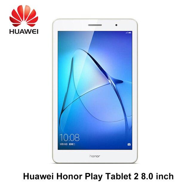 Huawei Honor Play Tablet 2 LTE/Wi-Fi 8 дюймов Qualcomm Snapdragon 425 2 г оперативной памяти 16 г ROM Andriod 7 8.0MP 4800 мАч IPS планшетный ПК T2 Play