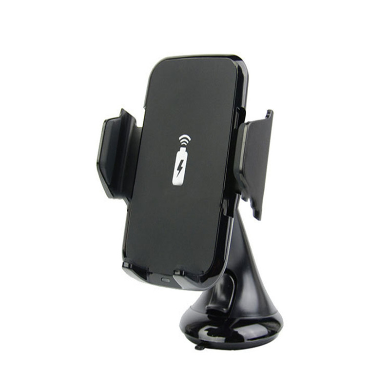 Multi Funtion Qi Wireless Charger Charging Pad Phone Holder Wireless Car Charger For Samsung S6