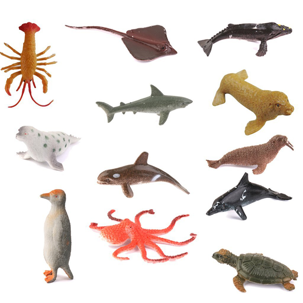 Sea Creature Toys : Online buy wholesale plastic sea creatures from china